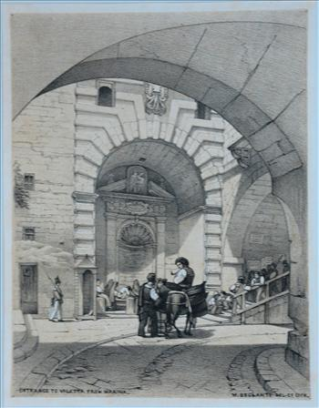 Entrance To Valletta From Marina