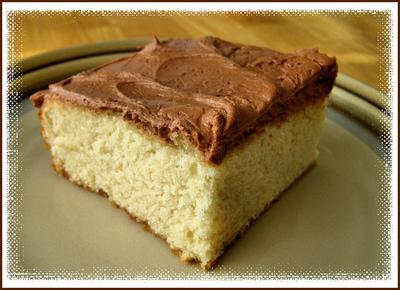 Κέικ βανίλιας και σοκολάτας