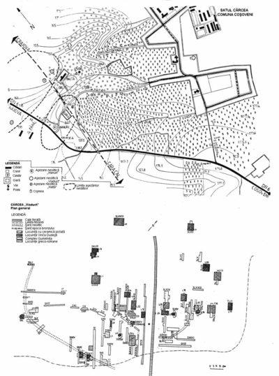Situl arheologic de la Cârcea - La Hanuri
