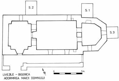 Biserica medievală Adormirea Maicii Domnului de la Livezile