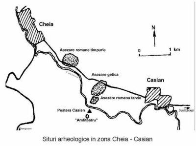 Situl arheologic de la Casian - Gazoduct