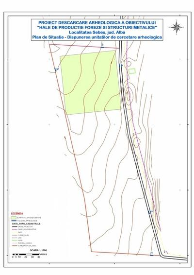 Cercetarea arheologică de la Sebeș-Hale de producție foreze și structuri metalice