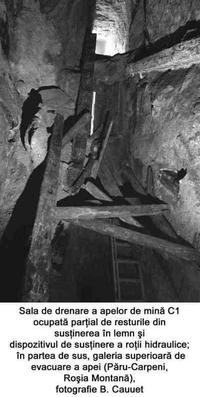 Exploatarea minieră Roșia Montană - Masivul Cârnic