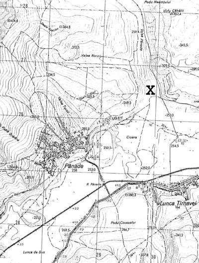 Situl arheologic de la Pănade - Sărături