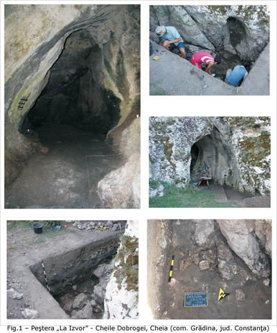 Situl arheologic de la Cheia - Peștera La Izvor