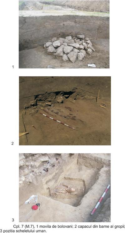 Tumulul 3 de la Peștera-km 168+600-169+100
