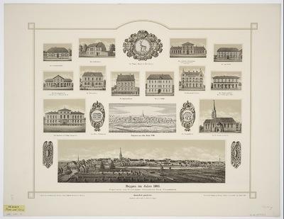 Ansichten von Reppen, Lichtdruck, 1776-1893