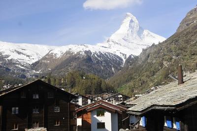 Zermatt - Ortsansicht