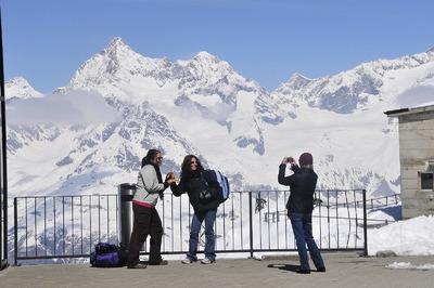 Zermatt - Erinnerungsfoto