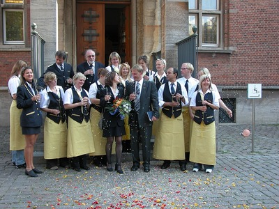 Landeshauptstadt Kiel - Hochzeitsgesellschaft