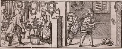 Seiler, Holzschnitt, 16. Jh.