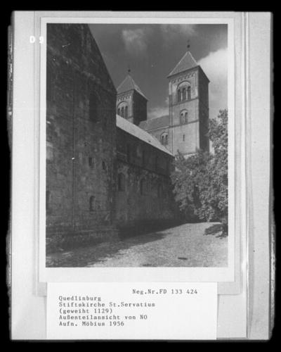 Ehemalige Damenstiftskirche Sankt Servatius; Schloßkirche; Dom