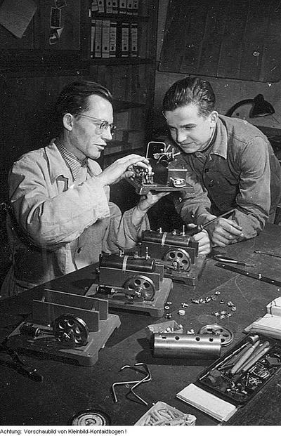 Industriebetrieb - Verschiedenes, Juli 1954 - Januar 1955