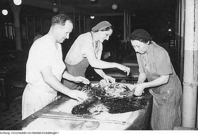 Aktivisten. Produktion, 21. Januar 1951