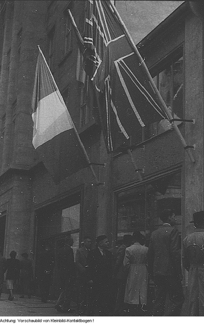 Leipzig. Leipziger Messe - Stadtbetrieb, September 1952