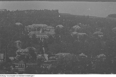 Bad Gottleuba. Sozialversicherung Gottleuba, Mai 1954
