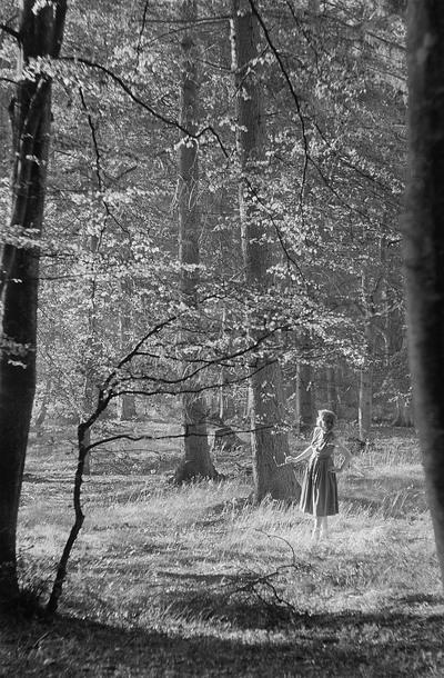 Renate Rössing im Wald