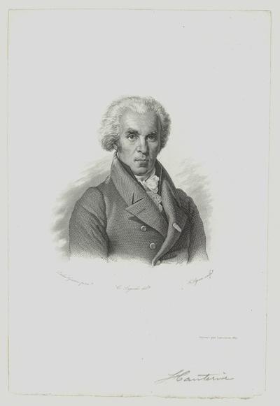 Porträt von Alexandre-Maurice Blanc de Hauterive