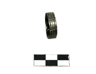 ezüst pántgyűrű
