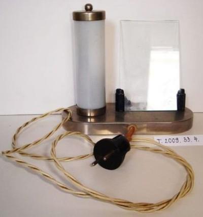 Asztali lámpa fényképtartóval