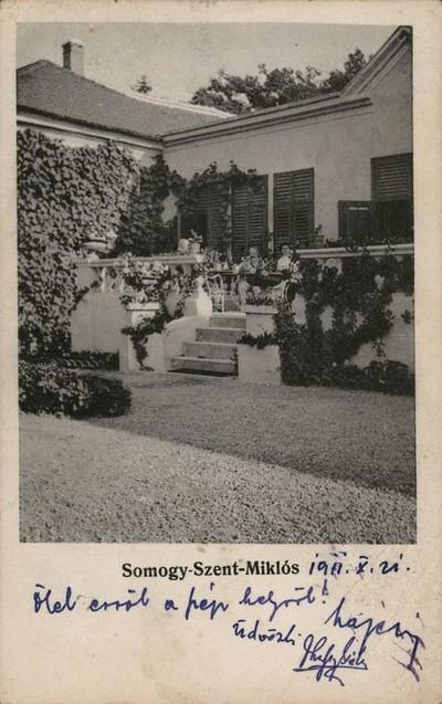 Miklósfa, kastély
