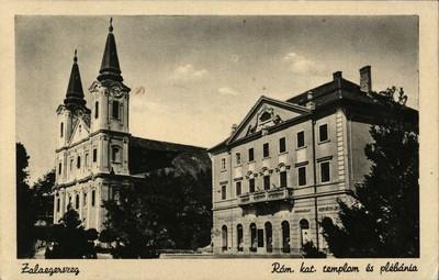 Zalaegerszeg Mária Magdonna plébániatemplom és plébániahivatal
