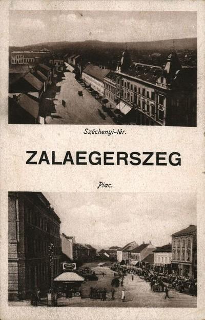 Zalaegerszeg, Széchenyi tér, piac