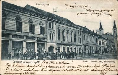 Zalaegerszeg Kazinczy-tér