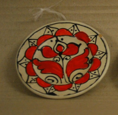Kisméretű korondi tányér