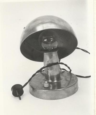 asztali lámpa, elektromos