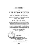 Discours sur les révolutions de la surface du globe : et sur les changements qu'elles ont produits dans le règne animal (6e éd. française, rev. et augm.) / par M. le baron G. Cuvier,...
