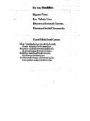Elegantiae portus ; Lau. Vallensis Lima ; Rhetoricen Herennium esse Ciceronis ; Rhetorices ad Herennium commentariolus ([Reprod.])