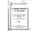 Le programme coopératiste et les écoles socialistes : trois leçons du cours sur la coopération au Collège de France, janvier 1924 / par Charles Gide