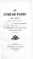 Le Curé de Flers-lez-Douai, par M. l'abbé Cuvillier