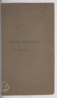 Pauline Kergomard (1838-1925) / [discours de M. Camille Guy, Ferdinand Buisson, Mme Avril de Sainte-Croix et M. Lapie]