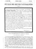 Etude préliminaire des coquilles fossiles des faluns de la Touraine ([Reprod.]) / [G. F. Dollfus et P. Dautzenberg]