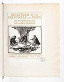 L'Anneau du Niebelungen : tétralogie / par Richard Wagner ; avec ill. par Arthur Rackham ; trad. en prose rythmée par Alfred Ernst