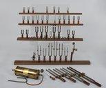 Collection Charles Cros. Appareils et instruments scientifiques (média : son, image animée). Tonomètres (média : son). Tonomètre de l'Institut de Phonétique