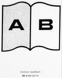 CABINET DES ORDRES. — Correspondance. II Lettres classées par ordre alphabétique. A-J.