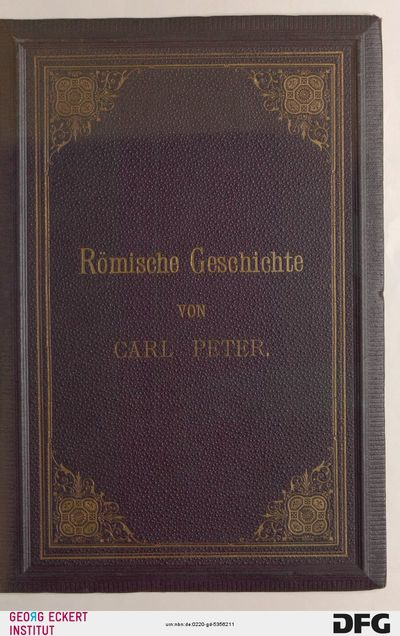 Römische Geschichte in kürzerer Fassung