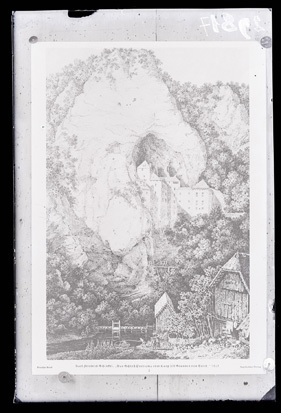Predjama - Grad (grafika), fotografija
