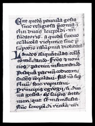 Jurklošter - Samostan, rokopis cod.40 (fotografija), fotografija