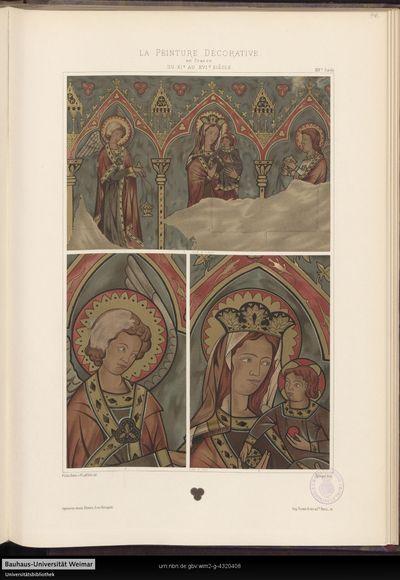 [XIVe siècle, Pl. 46 - 47]