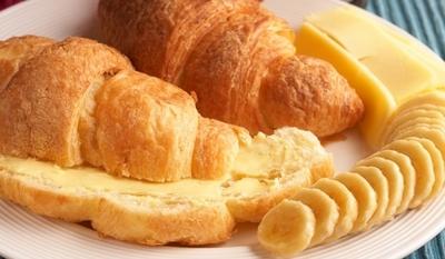 Кроасани с банани