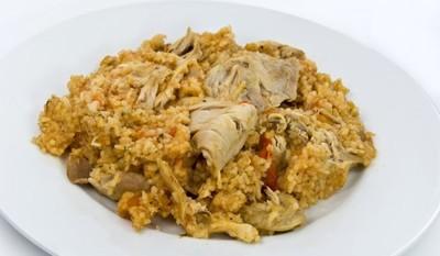 Ориз с пилешко и дробчета