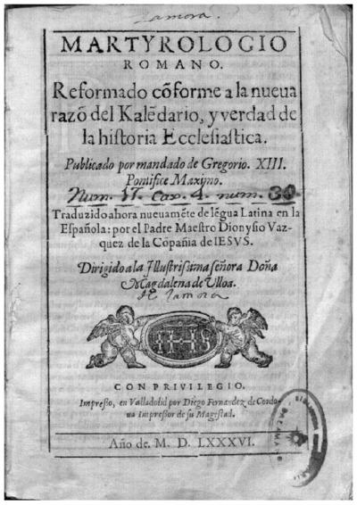 Martyrologio romano