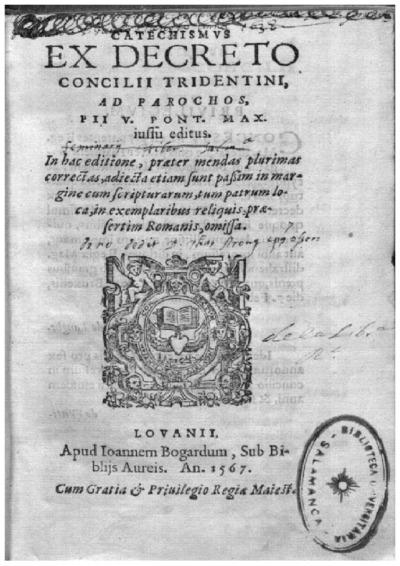 Catechismus ex decreto concilij Tridentini ad parochos