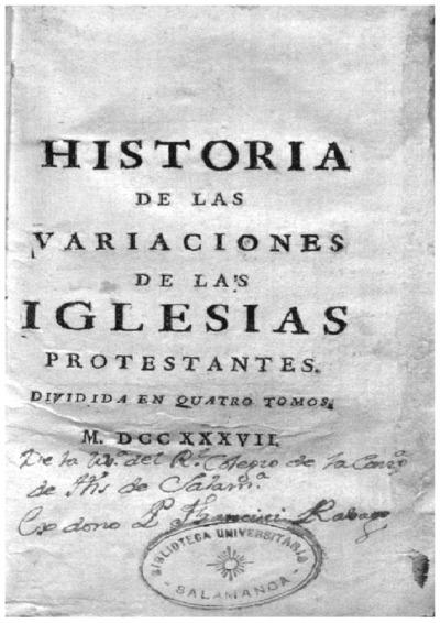 Historia de las variaciones de las iglesias protestantes