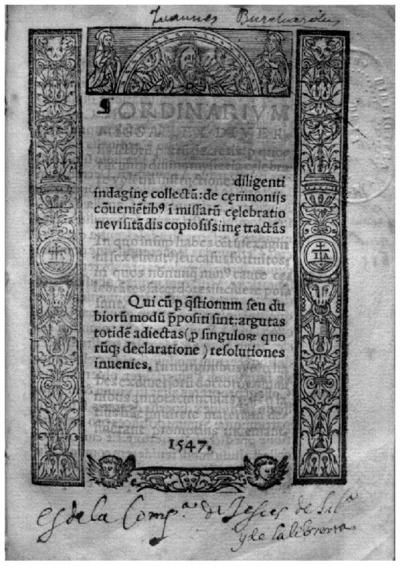 Ordinarium missae
