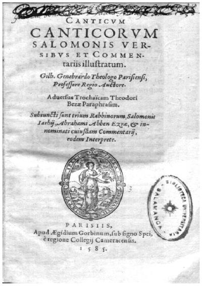 Canticum Canticorum Salomonis versibus et commentarijs illustratum /